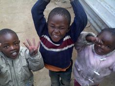 People in the townships love to dance it shows happiness.
