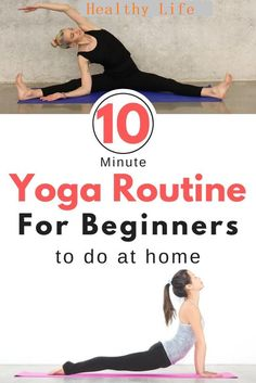 """Beginer Start yoga early? Looking for an easy daily yoga routine for beginners? This is the perfect sequence that you can do at home even if you've never tried yoga before. The tips and variations suit any level of yoga #yogaroutine #yogaforbeginners #yoga #yogaathome  Stop wasting your time! Increase Height, feel great and do yoga the right way! Check out Yoga Burn for Women in the 👉👉👉 bio link 😍 (@HealthyLife) . TYPE """"YES"""" IF YOU THINK YOGA MAKES LIFE BETTER. DROP A """"❤️""""  Click link…"""