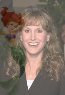 Ariel and her voice actress