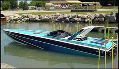 U151 1986 Wellcraft 38' Scarab KV 38 From the Hit TV Series Miami Vice Photo 2