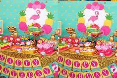 Resultado de imagem para festa flamingo