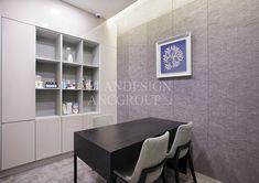 플랜디자인 Reception Desk Design, Layout, Showroom, Dining Table, Interior Design, Dental, Furniture, Commercial, Home Decor