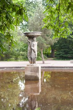 Spectacular Brunnen im Schlossgarten Karlsruhe