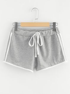 SHEIN offers Striped Side Drawstring Waist Shorts & more to fit your fashionable needs. Shorts Sale, Type Of Pants, Chor, Young Models, Pants Outfit, Mannequin, Drawstring Waist, Short Skirts, Teen Fashion