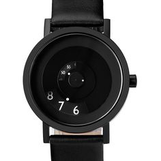 Projects Watch (Will-Harris) - Reveal Black/Leather (40mm)