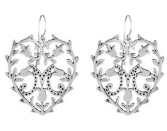 click to enlarge - EX-VOTO STERLING SILVER EARRINGS