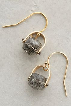 Elm Quartz Drops #anthrofave #anthropologie.com. Wish these came in silver!!