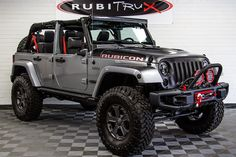 Jeep Discover 2017 Jeep Wrangler Rubicon Recon Unlimited Billet 2017 Jeep Wrangler Rubicon Recon Unlimited Shown w/ Optional Half Doors Jeep Wrangler Rubicon, Jeep Wranglers, Jeep Wrangler Custom, Jeep Wrangler Unlimited Lifted, Jeep Unlimited, Red Jeep, Black Jeep, Jeep Jk, Jeep Truck