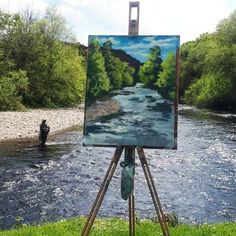 April 2020 Painting Workshop at Kilmacurragh with Rod Coyne - Avoca Studio Gallery Outdoor Paint, Painting Workshop, Canvas Paper, Painting Process, Stay The Night, Tripod Lamp, Color Mixing, Scenery, Landscape