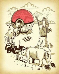 E assim Noé conseguiu reunir todos animais em um só lugar | Complexo Geek