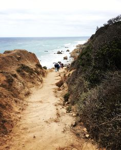 Trail to El Matador State Beach, Malibu, CA   My happy paradise
