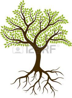 tree of life clipart sweeping oak tree design free clip art rh pinterest com tree of life clipart with roots tree of life clipart free