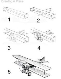 Comment dessiner un avion MichaelsStores 2775 comment dessiner