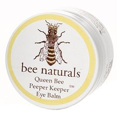 Queen Bee Naturals Best Eye Balm Peeper Keeper - Eyelid Cream Reduces Crows Feet, Wrinkles & Fine Lines - Moisturizes Your Skin - Vitamin E   10 All Natural Nutrient Oils - 0.8 Oz * You can find out more details at the link of the image.