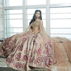 Obsessing over @houseofneetalulla lehengas recently ! See more on the WedMeGood app ! #lehenga #indianwear #indianbride #brides #wedding #indianfashion #wedding #reception #dday #fashion #bridal #weddingdress #gold #