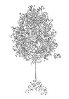 Coloriage Fleur Zen.389 Meilleures Images Du Tableau Dessins Fleurs Et Coloriages Zen