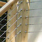 SWAGE BUTTON END: For Cable Deck Railing | Cable Railing System Components  | Pinterest | Cable Deck Railing, Cable And Decking
