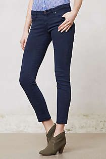 Anthropologie - AG Stevie Ankle Jeans. Sulfur abyss size 28