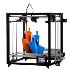 FLSUN® Cube 3D Printer 260*260*350mm Printing Size With Auto-leveling Touch Screen Support Dual Z Motors 1.75mm 0.4mm Nozzle