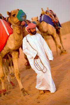 Kamelen tochten in Dubai zijn onmisbaar als je de cultuur wil leren kennen van de lokale bewoners.