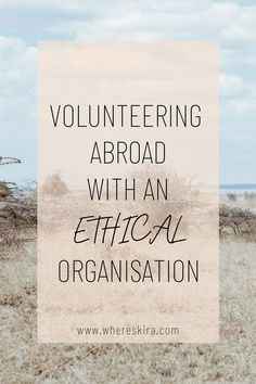 Volunteer In Africa, Volunteer Abroad, Travel Advice, Travel Guides, Kenya Travel, Sustainable Tourism, Here On Earth, Gap Year, Savior