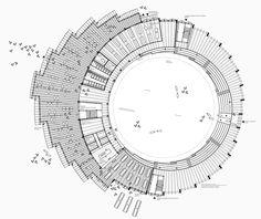 Saarinen S Plan For The Upper Floor Of The Twa Terminal