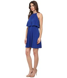Jessica Simpson Popover Bungee Necklace Dress Cobalt - Zappos.com Free Shipping BOTH Ways