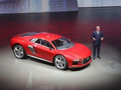The #Audi #Nanuk concept car that was revealed on the eve of the Frankfurt motor show hints at what the next R8 will look like, according to Audi sources.
