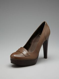 Stuart Weitzman loafer pumps
