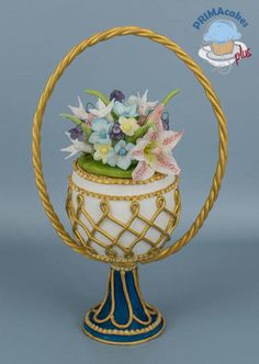 50 Shade of Easter Collaboration - Cake by Prima Cakes Plus - Jennifer Easter Cookies, Easter Cake, Cakes Plus, Egg Cake, Funny Cake, Faberge Eggs, Cake Decorating, Decorating Ideas, 50 Shades