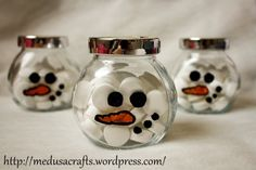 snowman sugar bowl Medusa, Sugar Bowl, Snowman, Jar, Crafts, Home Decor, Jellyfish, Homemade Home Decor, Jars