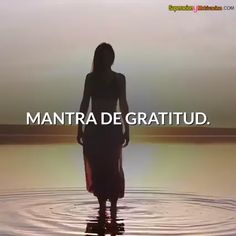 Mantra de Gratitud Mantra of Gratitude Being grateful, having gratitude, is synonymous with humility Yoga Mantras, Bullet Journal Gratitude, Yoga Kundalini, Coaching, Massage, Motivational Phrases, Quotes Inspirational, Positive Mind, Yoga Videos