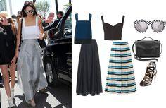 Celebrity Style Inspiration: Kendall Jenner – Sewing Blog | BurdaStyle.com #sewing #sewingpatterns #diy #diyfashion