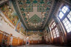 The inside details of the beautiful train station Estación del Norte #Valencia #Spain   Flickr - Photo Sharing!
