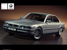 BMW 7 series E38 (1995-2002) One of the most beautiful cars that BMW has ever made. Such amazing stance and reserved strength.