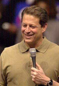 (you have nice hands part two and a generally appealing face) | Vice President Al Gore in St. Louis