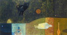 BÁLINT Endre: Honvágy, 1959 Paintings, Art, Art Background, Paint, Painting Art, Kunst, Performing Arts, Painting, Painted Canvas