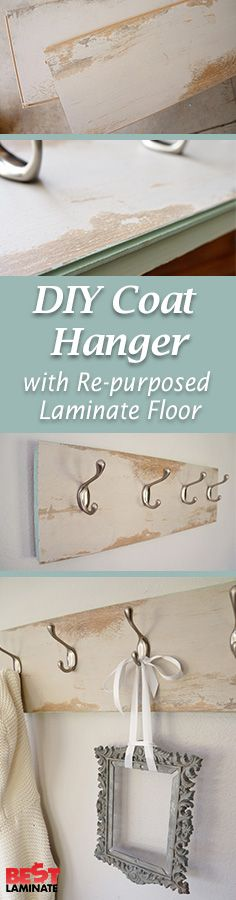 @DIYInspired helped us out by creating this adorable coat hanger out of a piece…