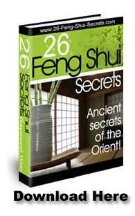 Traditional feng shui rules