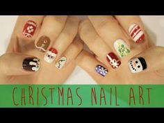 DIY Christmas Nails