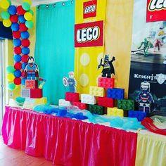 Festa Lego do Francisco que festejou 7 anos. Reserve agora a sua festa antes que esgote...