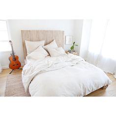 Linen  Duvet  + Pillow Shams - 4 Color Options