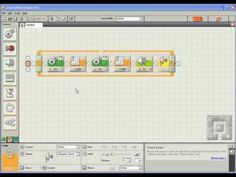 Great LEGO Mindstorms Tutorial - Part 2. I use this for introducing students to LEGO Mindstorms Robotics.