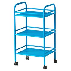 DRAGGAN Trolley - blue - IKEA Jolly Trolley for the pantry