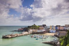 Tenby Harbour, Pembrokeshire, West Wales, Wales, United Kingdom, Europe Photographic Print at AllPosters.com Used to go here on church trip once a year.  Would like small print to put on gallery wall in den.