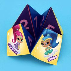 Shimmer and Shine Fortune Teller Craft