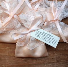 Jordan Almond Bags Lace Favor Italian Wedding Favors Jewellery Pouch