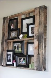 Got Pallets? Great use for old pallets! love it