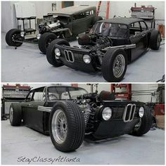 Epic 2002 BMW Hot Rod.. me want!