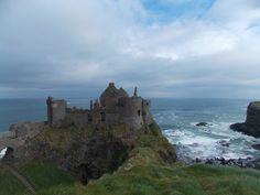 Dunluce Castle, Antrim Coastline, Northern Ireland